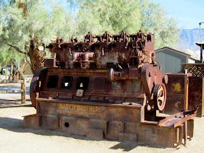 Photo: Enormous diesel engine