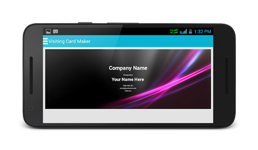 Free business card android apps on google play free business card screenshot thumbnail reheart Gallery