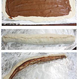 Nutella Braided Bread.