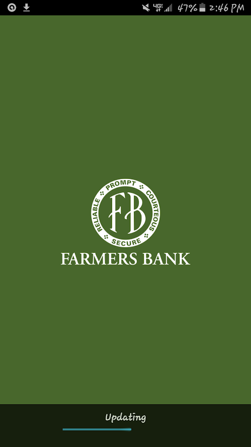 FarmersBank Mobile- screenshot
