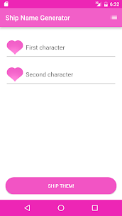 Fandom Ship Names Generator: Fluff and Fun 1.13 Mod Android Updated 2