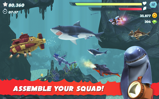 Hungry Shark Evolution apktram screenshots 23