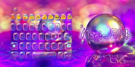 Emoji Keyboard-Magic Blob