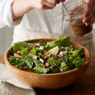 Balsamic Berry Vinaigrette Winter Salad.