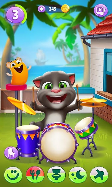 My Talking Tom 2 Android App Screenshot