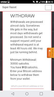 Bitcoin super faucet apps on google play screenshot image ccuart Choice Image