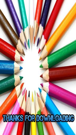 颜色的学习游戏的孩子