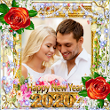 New Year Photo Frame New Year's greetings 2020 icon