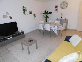 Appartement meublé 3 pièces 61,49 m2