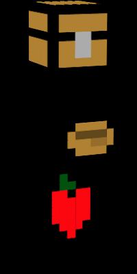 Comida nova skin - Minecraft boquete ...
