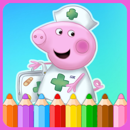 How To Color Peppa Pig (Peppa pig Game) (game)