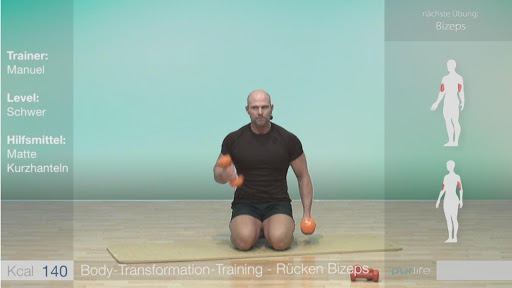 Body Transformation Training screenshot 1