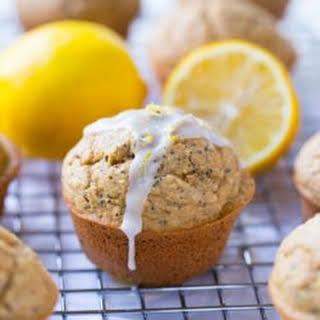 Flourless Lemon Poppy Seed Muffins.