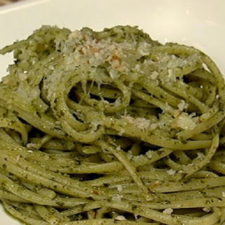 Trenette with Jalapeno Pesto
