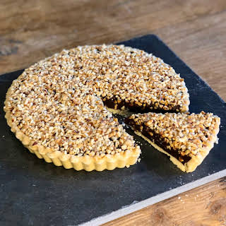Rich, Smooth and Divine Chocolate Tart.