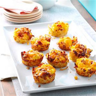 Scrambled Egg Hash Brown Cups