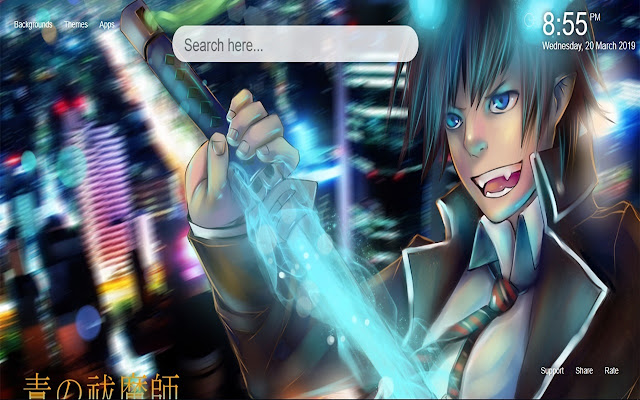 Ao no Exorcist Wallpapers & New Tab