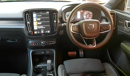 The cabin lays on a premium feel and the infotainment's easy to use. Picture: SUPPLIED
