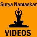 Surya Namaskar Yoga VIDEOs icon