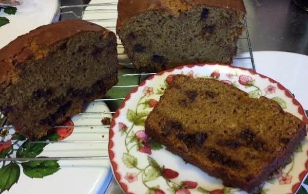 Pumpkin Bread With Chocolate Chips Recipe