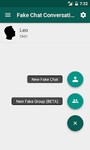 Fake Chat Conversations Screenshot
