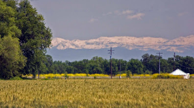 Photo: Sierra view from Dry Slough at Road 96 crossing