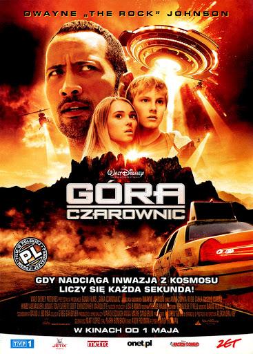 Przód ulotki filmu 'Góra Czarownic'