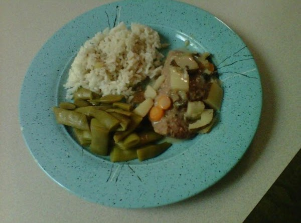 Jenny's Crockpot Mushroom & Veggie Cube Steak Recipe