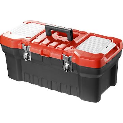 Ящик для инструмента пластиковый Зубр Мастер 22 56x28x23.5 см