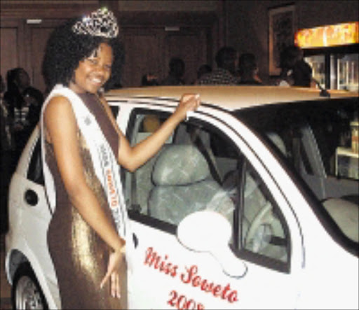 THE QUEEN: Rochelle Mothapo wears the Miss Soweto crown. PHOTO: NONHLANHLA NDHLOVU. © Unknown.