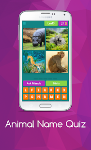 Download free Animal Name Quiz for PC on Windows and Mac apk screenshot 4