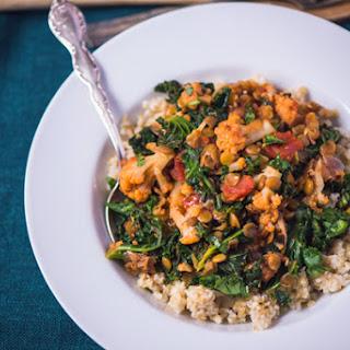 Cauliflower, Kale and Lentil Ragout Recipe