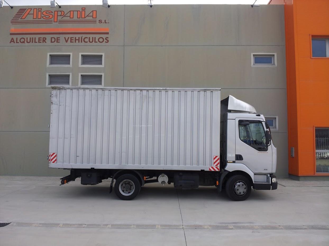 Alquiler de camiones de mas de 3500 kg en Zaragoza