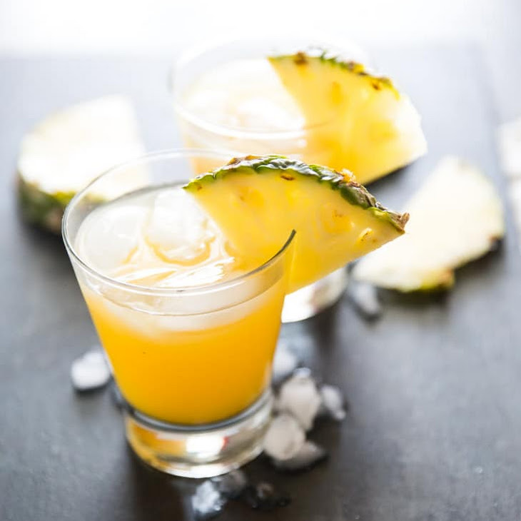 Pineapple Upside Down Cake Vodka Cocktail