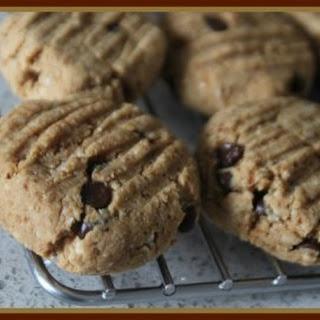 Vegan GF Peanut Flour Chocolate Chip Cookies Recipe
