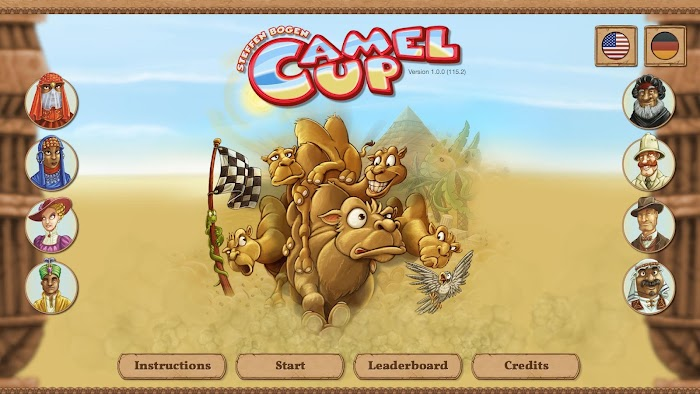 Camel Up- screenshot