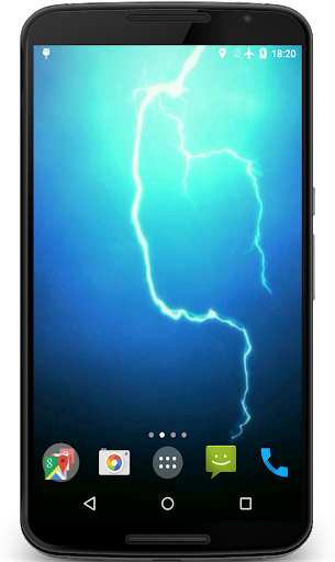 Lightning Video Live Wallpaper