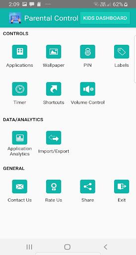 Kids Dashboard (Parental control KIDS MODE APP) 40.0 screenshots 3