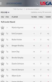 U.S. Open Golf Championship Screenshot 2