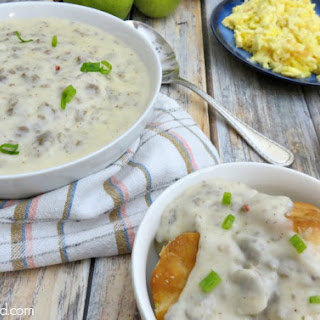 Foolproof Sausage Breakfast Gravy Recipe