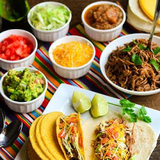 Slow Cooker Beef Brisket Tacos.