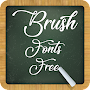 Brush Fonts Free APK icon