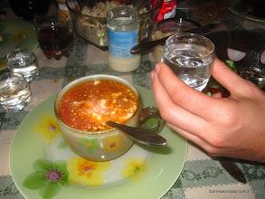 Photo: Borscht and Vodka: delightful!