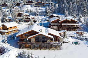An Alpine Chalet With a Modern Touch of Verbier Elegance in verbier