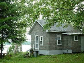 Photo: back of cabin