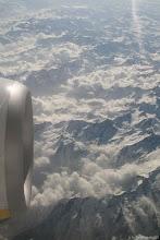 Photo: valahol a svájci alpok fölött