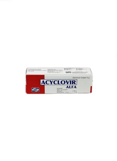 Aciclovir 5g Crema