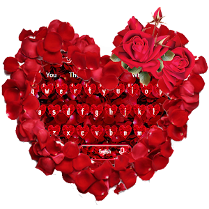 Red Rose Love Keyboard for PC