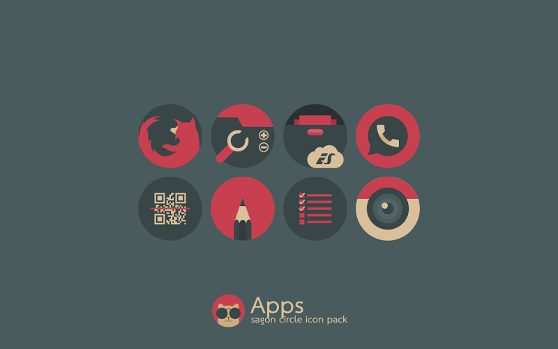 Sagon Circle Icon Pack Screenshot 4