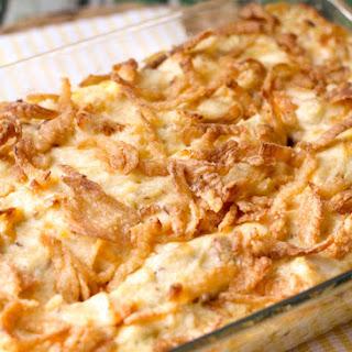 French Onion Chicken Casserole.